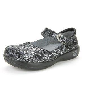 Alegria Kyra Bubbilicious Mary Jane Flats Size 9